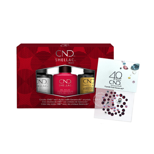 CND Shellac Wildfire Pro Kit with Crystal