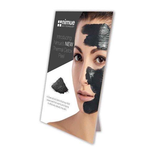 Nimue Thermal Detox Peel A4 Strut Card