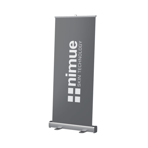 Nimue Logo Pull Up Banner