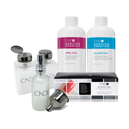 CND Essentials Kit, with FREE Menda Pumps
