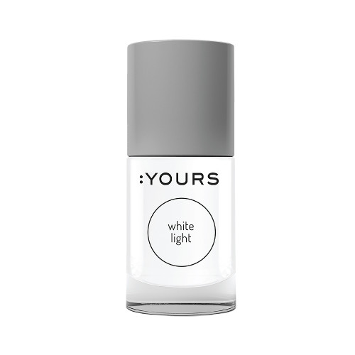 :Yours Stamping Polish White Light