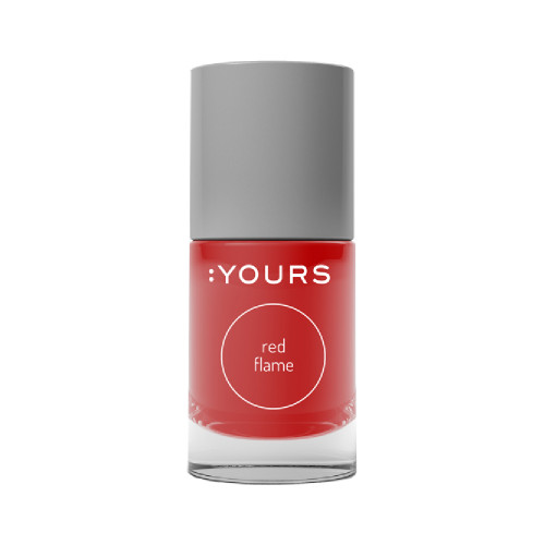 :Yours Stamping Polish Red Flame 10ml