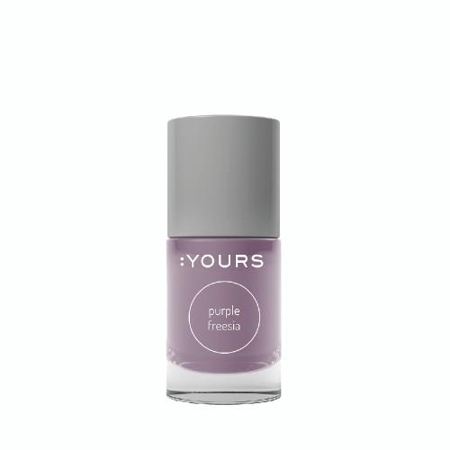 :Yours Stamping Polish Purple Freesia