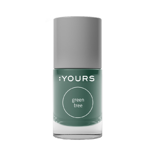 :YOURS Stamping Polish - Green Tree