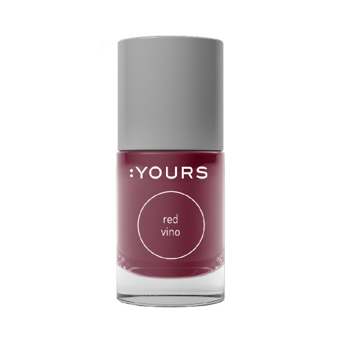 :YOURS Stamping Polish - Red Vino
