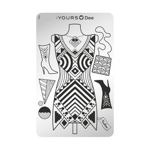 Dress to Impress Plate
