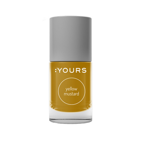 :YOURS Stamping Polish Yellow Mustard 10ml