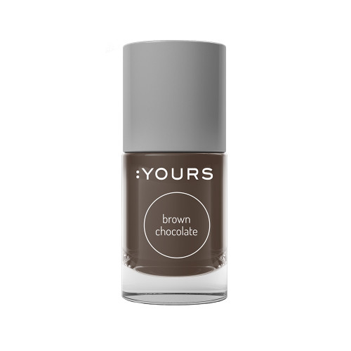 :YOURS Stamping Polish Brown Chocolate 10ml