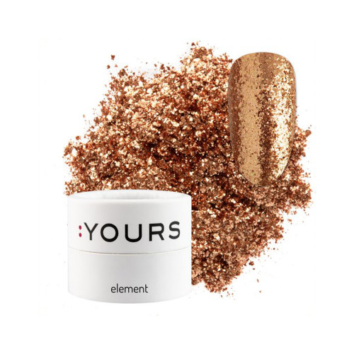 :YOURS Sparkle Effect Element Copper Chrysos