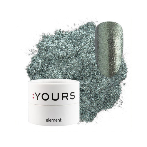:YOURS Sparkle Effect Element Green Amazon