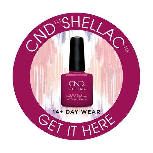 CND Shellac Window Cling