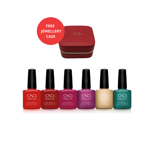 Shellac Cocktail Couture Collection with CND Jewellery Case