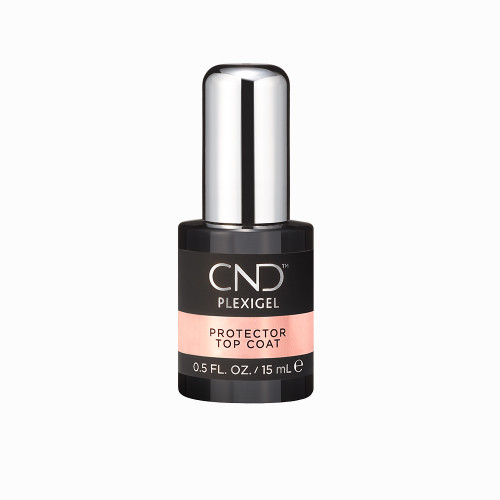 CND PLEXIGEL Protector Top Coat 0.5oz (15 ml)