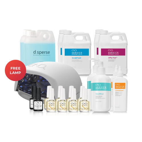 CND Essentials Deal with Free Lamp