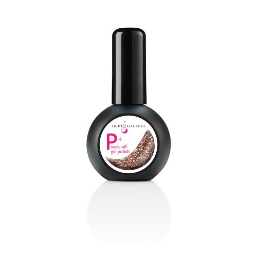 LE P+ Champagne Glitter Gel Polish 15ml