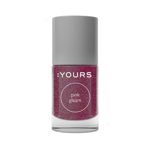 :YOURS Holographic Effect Stamping Polish Pink Gleam