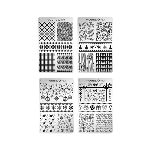 :YOURS Holy Nights Double Sided Stamping Plate Collection