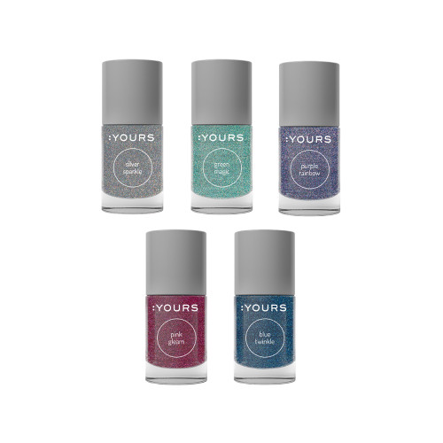 :YOURS Holy Nights Holographic Effect Stamping Polish Collection