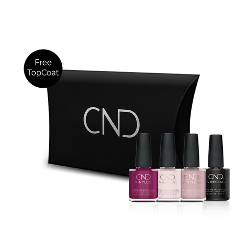 CND™ Christmas Vinylux Set (Free Top Coat)