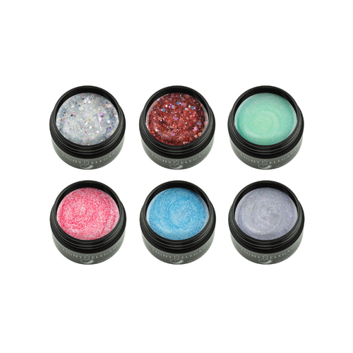 LE Afternoon Picnic Glitter Gel Collection 6 x 17ml