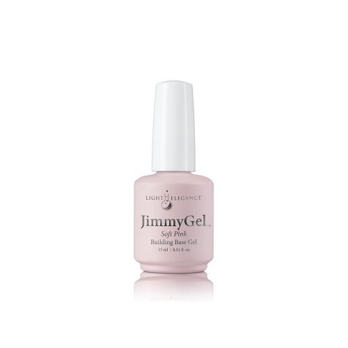 LE JimmyGel Soak-off Building Base Soft Pink 13.5ml