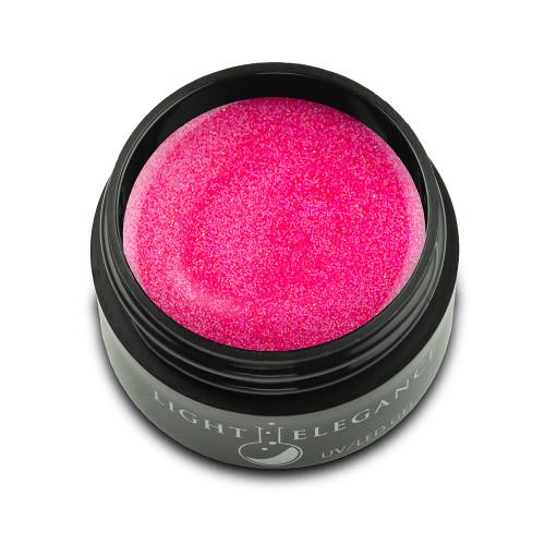 Light Elegance Pinch Me Pink Glitter Hard Gel