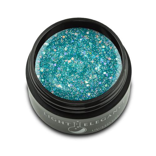 Light Elegance - De-Ja-Blue Glitter Hard Gel