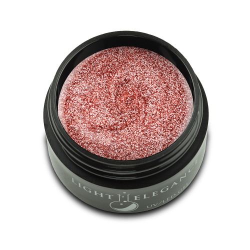 Light Elegance - Restful Rose Glitter Hard Gel