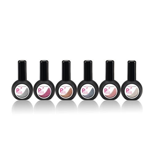 LE Venture into Beauty P+ Glitter Gel Polish Collection 6 x 15ml