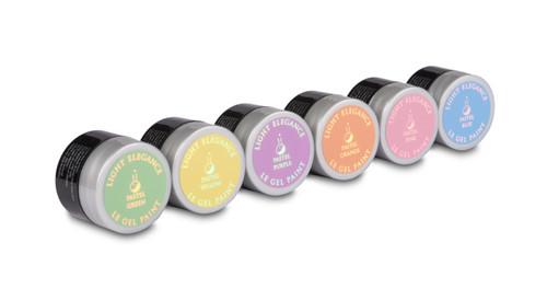 LE Pastel Gel Paint Kit
