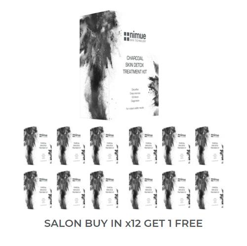 Nimue Thermal Detox Peel at home kit salon buy in x 12 + 1 free