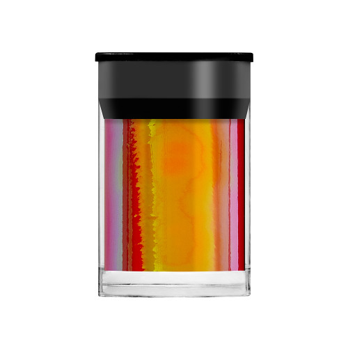 Lecente Orange Opalescent Shimmer Film