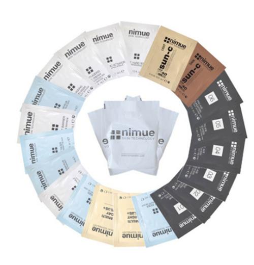 Nimue Upselling Sachet Sampling Kit