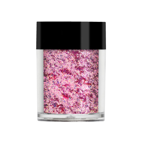 Lecente Blush Pink Iridescent Flakes