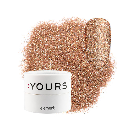 :YOURS Glitter Effect Eco Element Bronze Secret