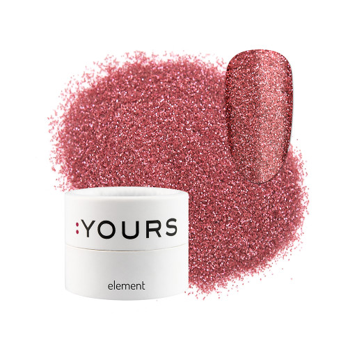 :YOURS Glitter Effect Eco Element Pink Sweetness