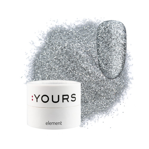 :YOURS Glitter Effect Eco Element Silver Shine