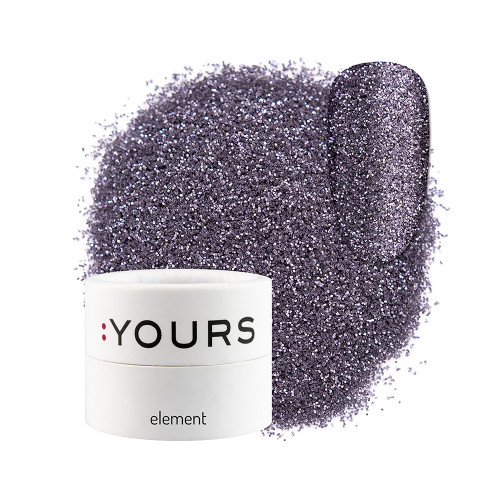 :YOURS Glitter Effect Eco Element Violet Mystery