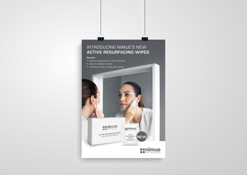 Active Resurfacing Wipes A2 Poster