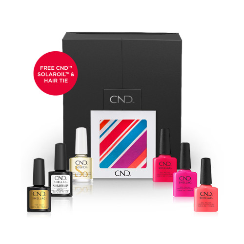 CND Summer City Chic Collection Kit - Suburb Brights