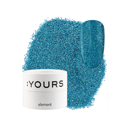 :YOURS Yolographic Effect Glitter Element Flashing Lights