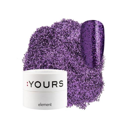 :YOURS Finest Effect Glitter Element Purple Sound