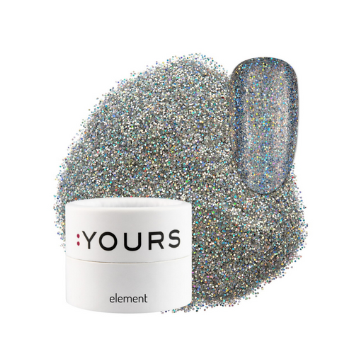 :YOURS Yolographic Effect Glitter Element Runaway