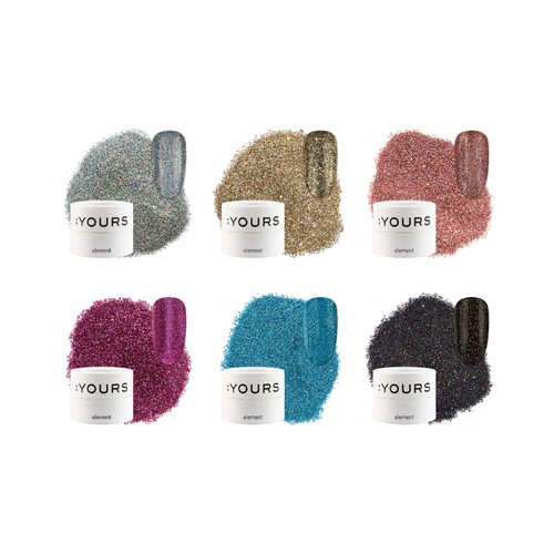 :YOURS Party Up Yolographic Effect Glitter Element Collection
