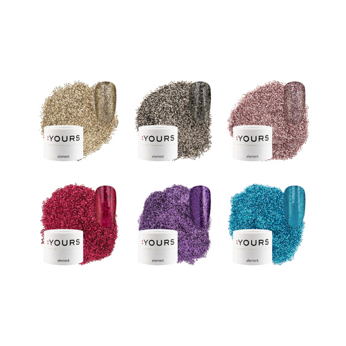 :YOURS Party Up Finest Effect Glitter Element Collection