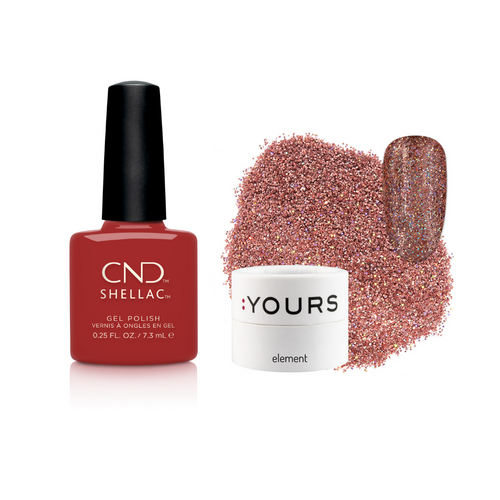 CND Books and Beaujolais & :YOURS Bound To Element Duo