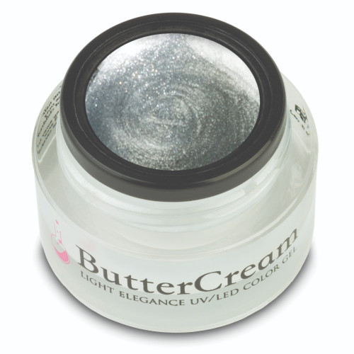 LE Silver Metallic ButterCream Color Gel 5ml