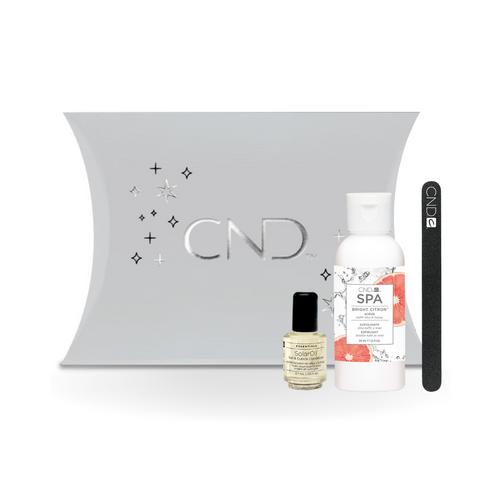 CND Spa Hydrating Holiday Kit - Bright Citron Scrub