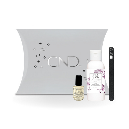 CND Spa Hydrating Holiday Kit - Gardenia Woods Lotion
