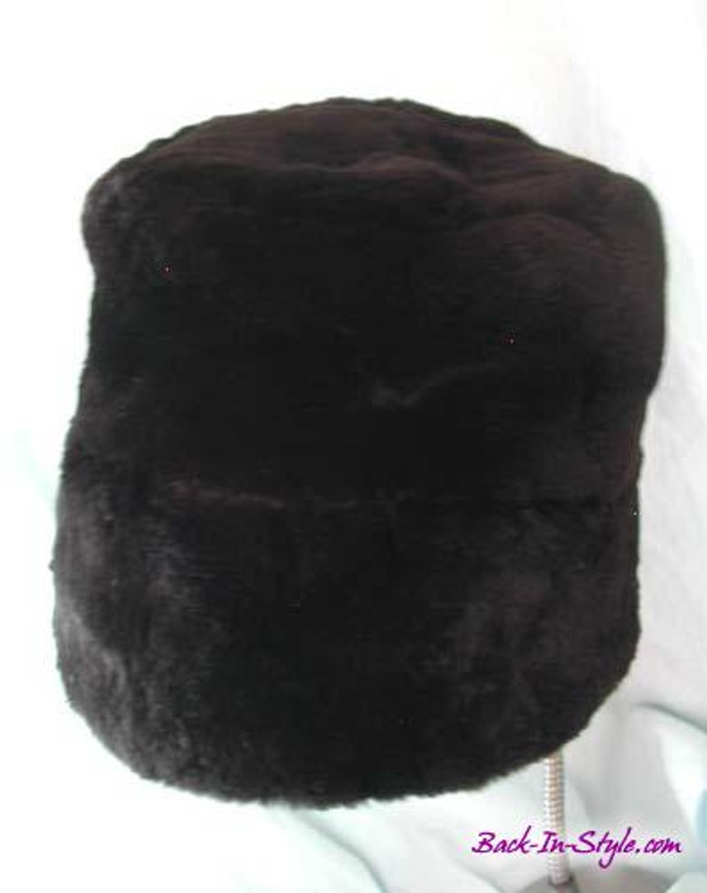 4f7d02d6ab8d3 Black Fur Bucket Hat